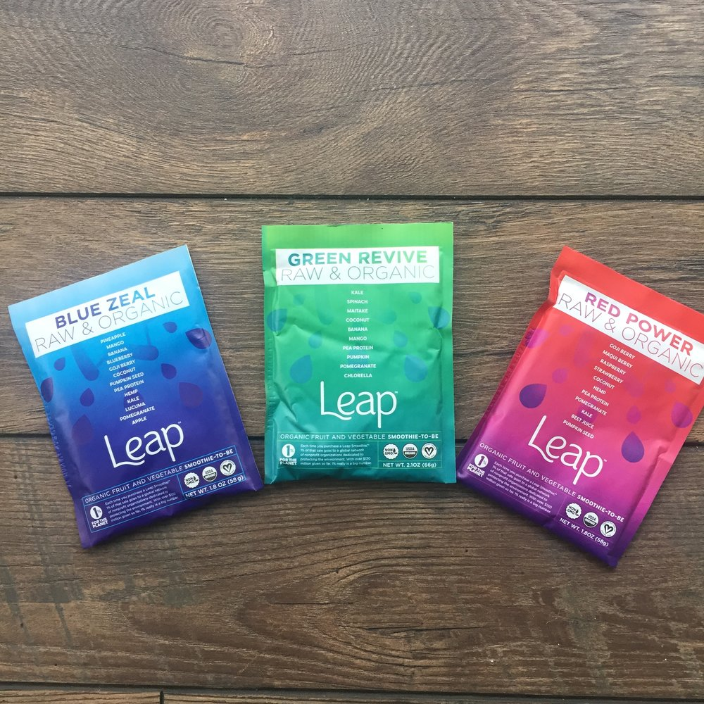 Leap Smoothies | Healthy Holiday Gift Guide 2016 | Tori Schmitt, MS, RDN, LD