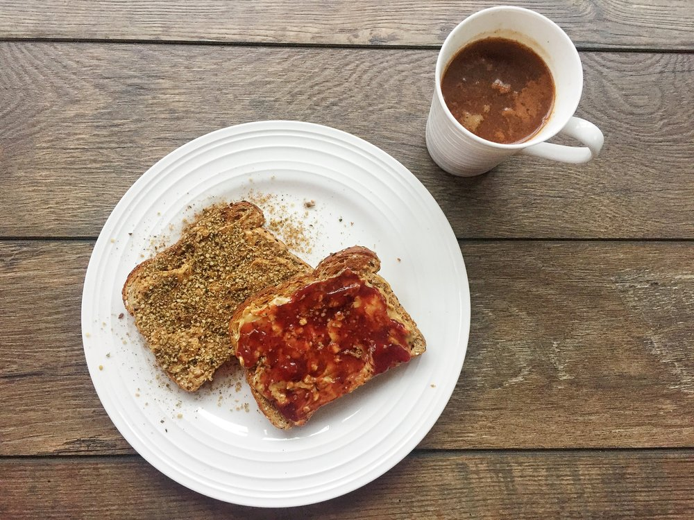 Toast with Coffee | YES! Nutrition LLC