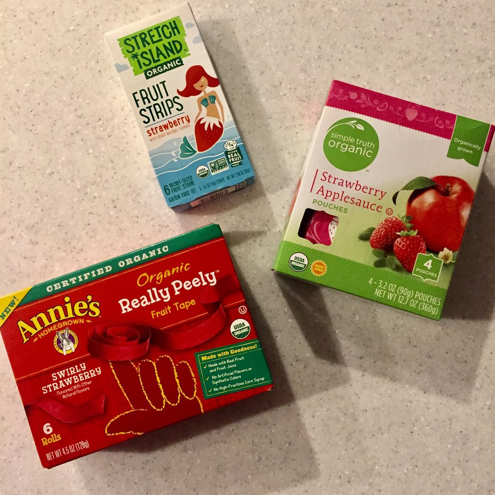HEALTHY BACK TO SCHOOL FRUIT SNACKS