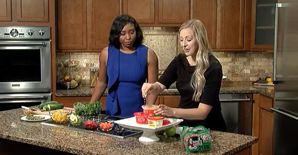 Fox19 WXIX | Tori Schmitt MS RDN LD | Healthy Back To School Sandwich