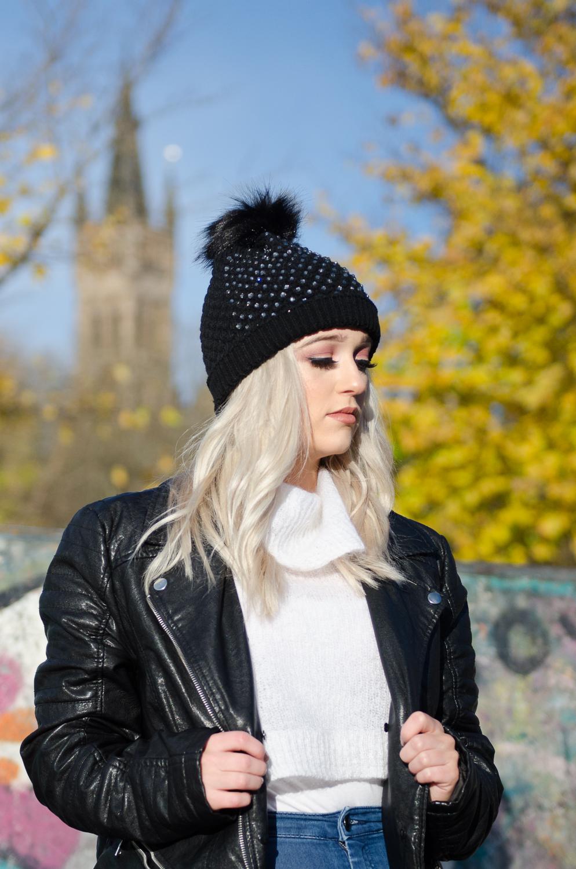 880d9385085 Black Glam Hat — La Coco Gift Boutique