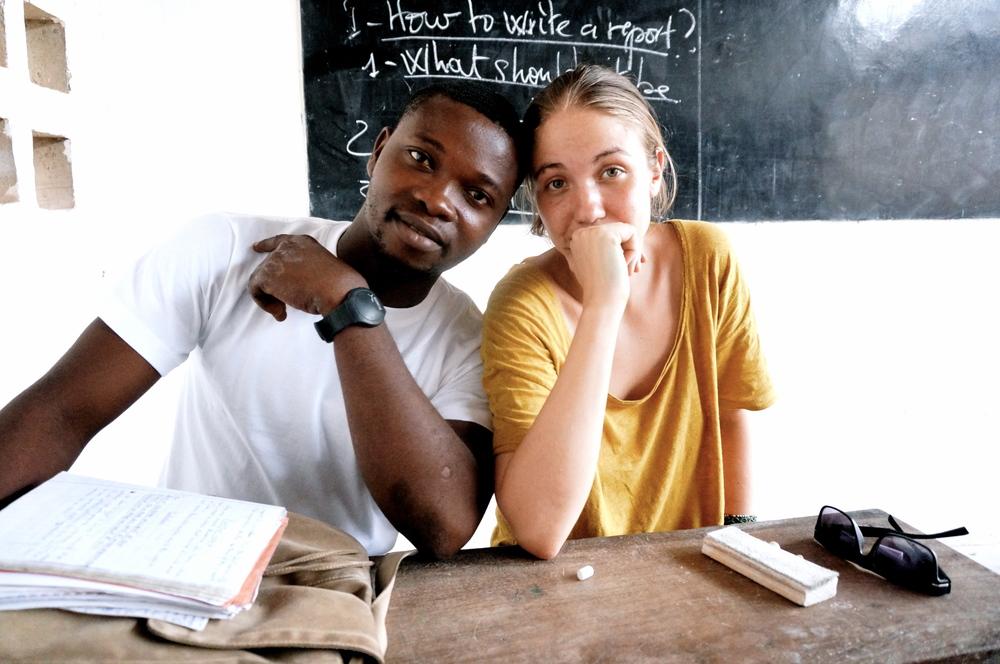 mit dem englischlehrer