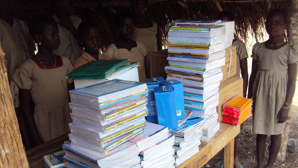 Schulhefte des stipendienfonds