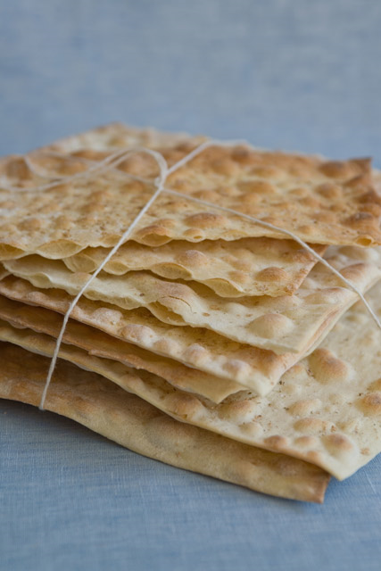 "CARTA DI MUSICA   Inspired by Sardinian ""sheets of music."" Lightly salted flatbread flavored with olive oil. Shelf life is 2-3 months."