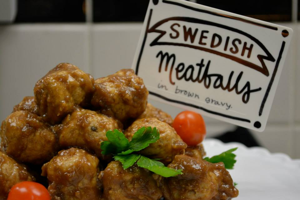our famous swedish meatballs are a delicious appetizer or entree! a holiday favorite!