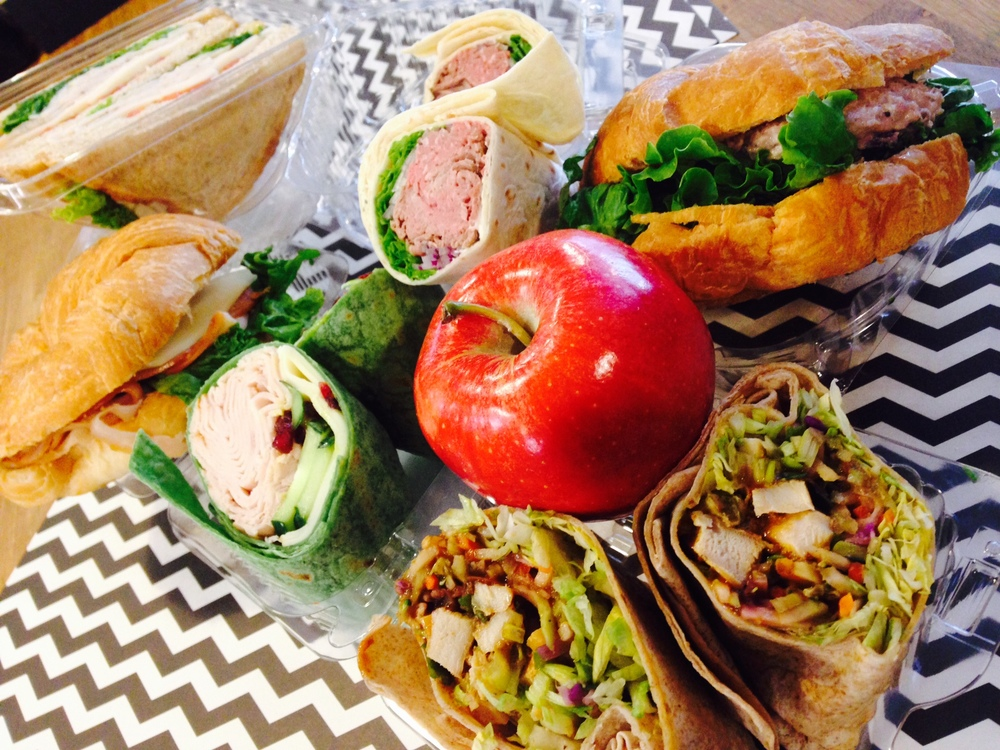 assorted wraps & sandwiches