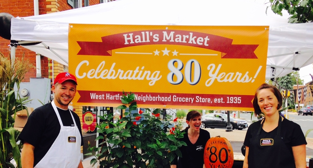 Hall's 80th anniversary, 3rd generation!