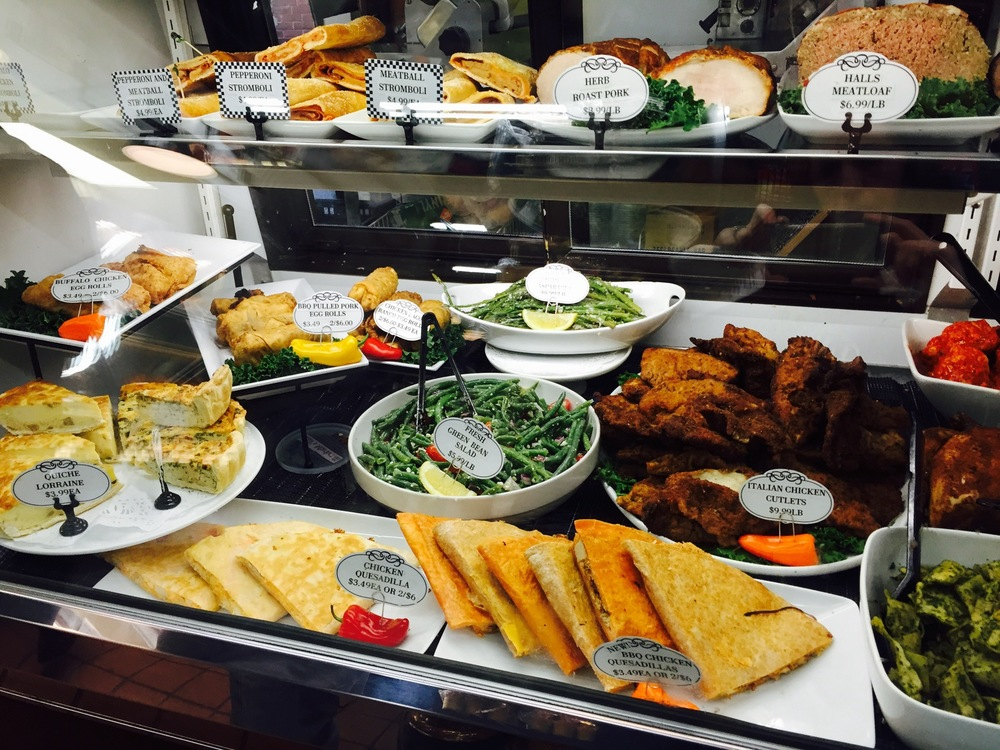 Hall's award winning deli