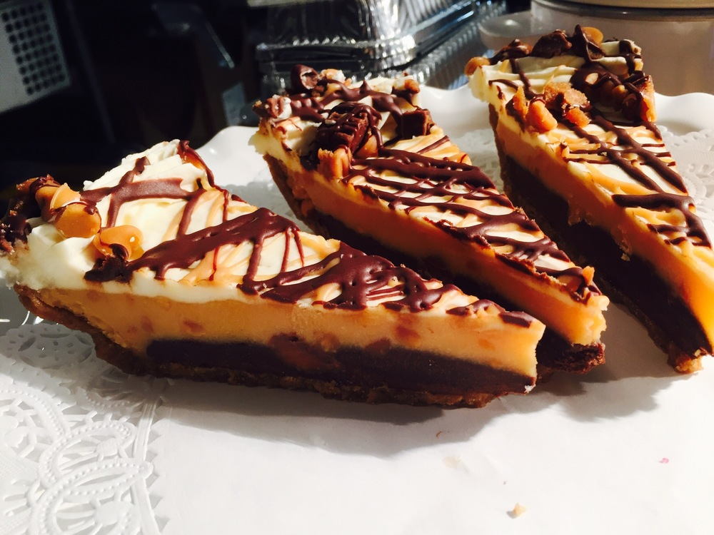 peanut butter blast pie