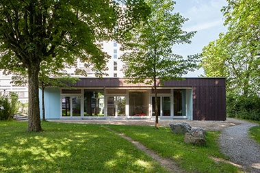 2013 Erweiterung Pavillon Georg-Kempf,Zürich