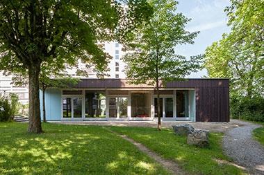 Pavillon Pensimo   Georg-Kempf-Strasse Zürich