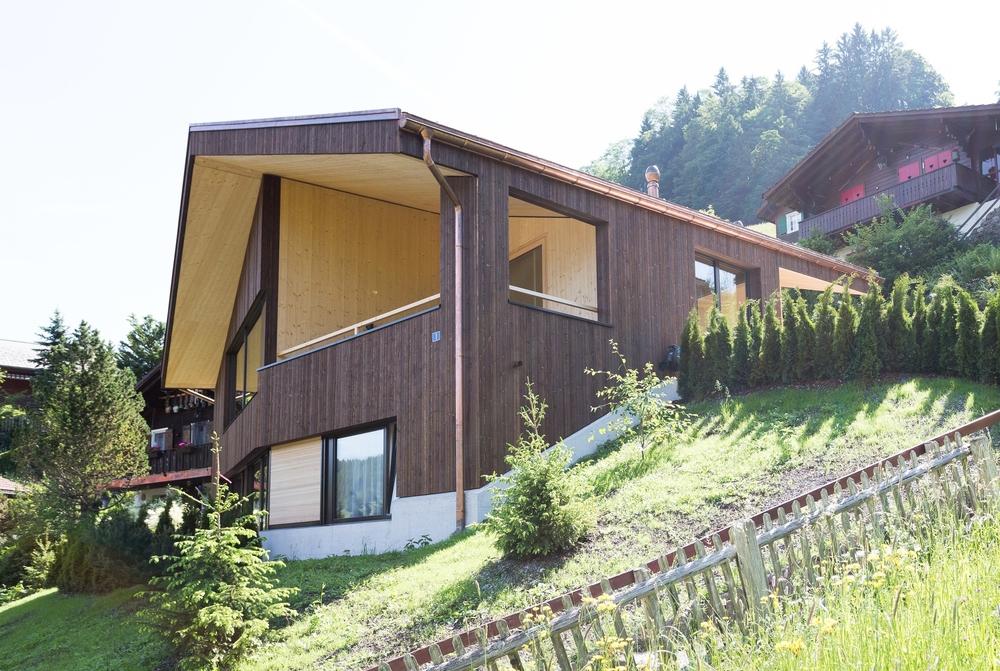 2014 Neubau Einfamilienhaus Oberiberg