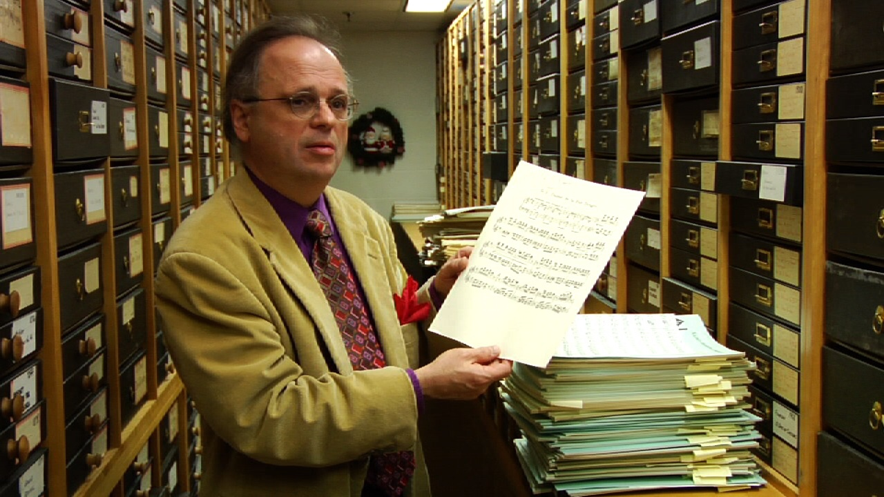 Ray Kreuger, BSO Librarian and master of sheet music.