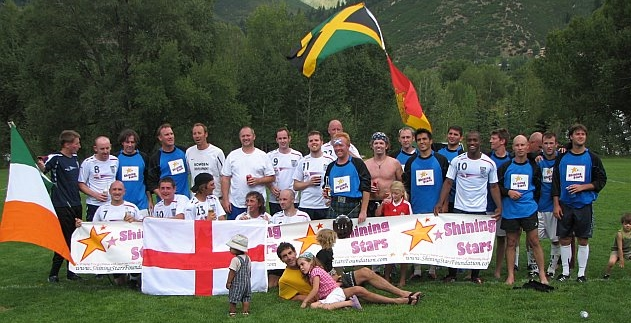 Aspen-based athletes join together to raise funds for Shining Stars at a volunteer organized soccer tournament.