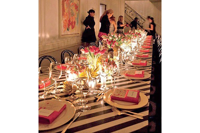 kelly wearstler dinner party