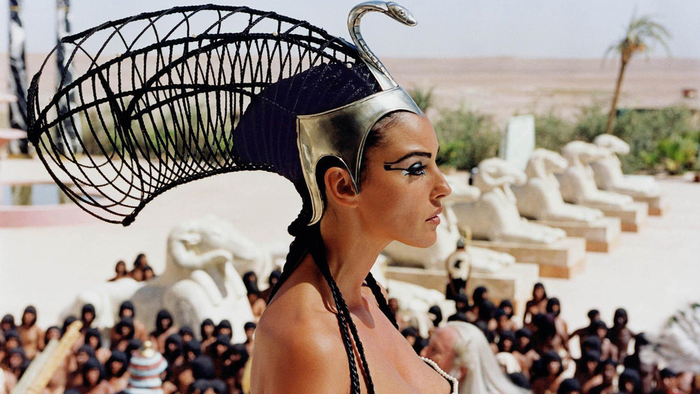 IMAGE CREDIT - Monica Bellucci as Cleopatra