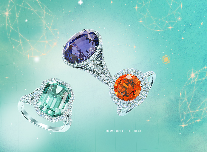 Any of these Amazing Tiffany cocktail rings will compliment your Campbell!
