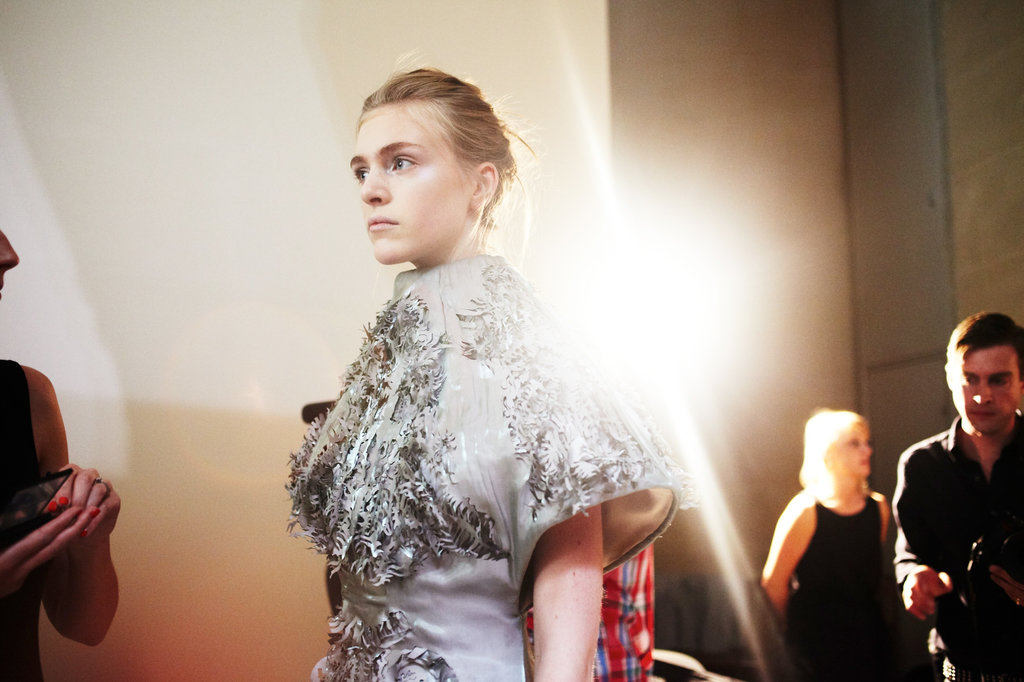 tmagazine: Runway ready at Iris van Herpen #couture. Photo by Barbara Anastacio.