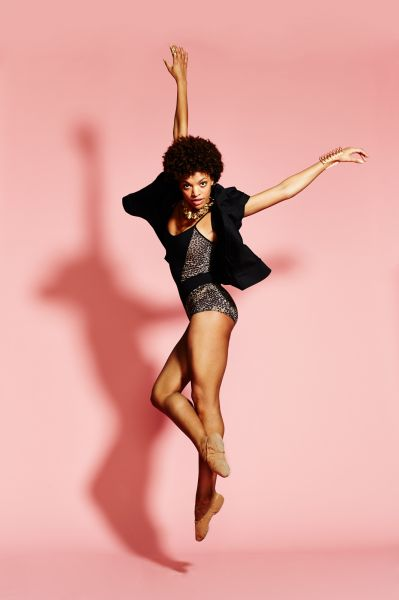 Professional Dancer Fana Tesfagioris wearing the  Campbell Wire Tower    featured on  Refinery29