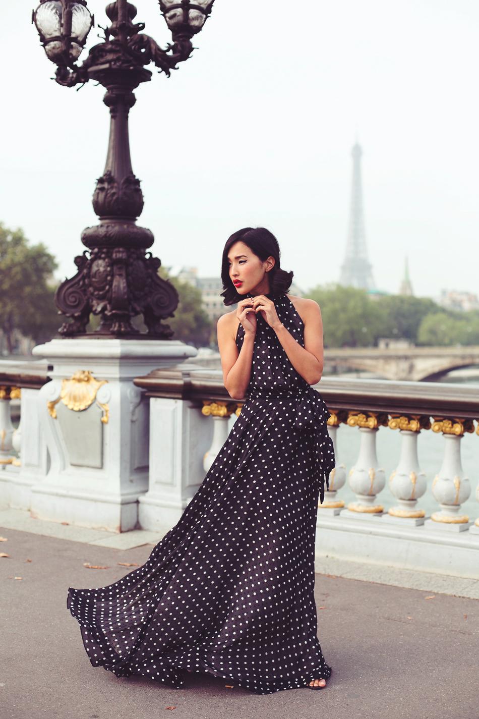 parisian polka dots