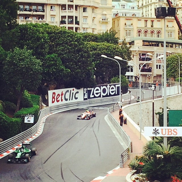 Sunday drivers #monaco #granprix (at Monte Carlo, Monaco)