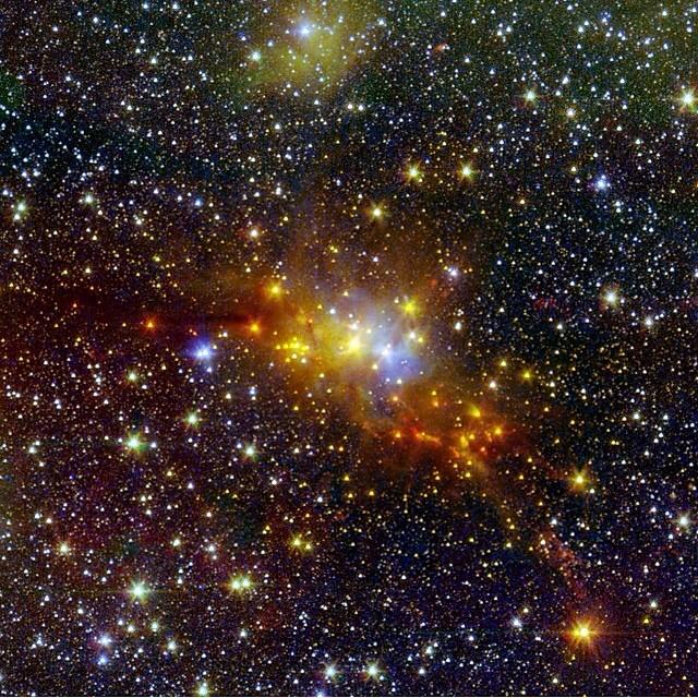 #regram @nasa Serpent star forming cloud. #beauty #galaxy  (at New York, New York)