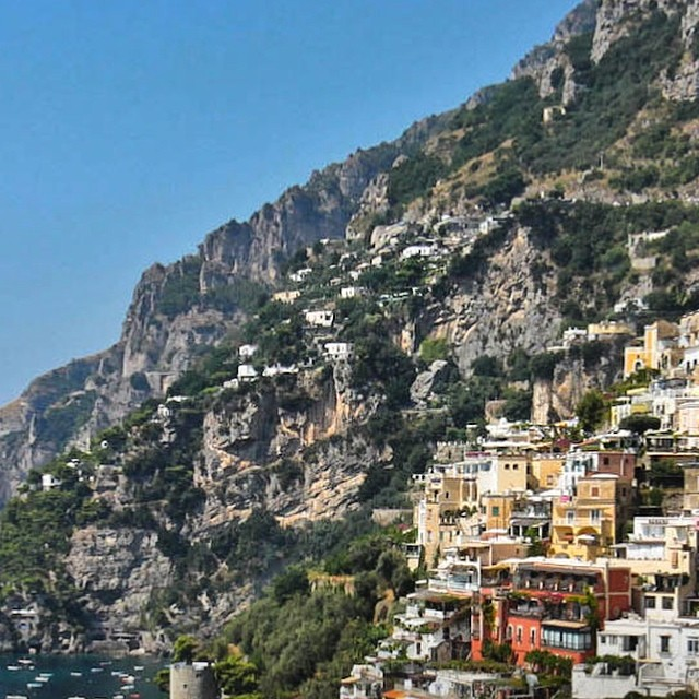 Last week wins. #positano