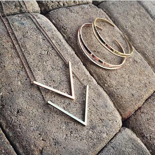 Regram @atriummiami with some of our summer favorites! #ancientarmband #vchestplate 💙💙💙