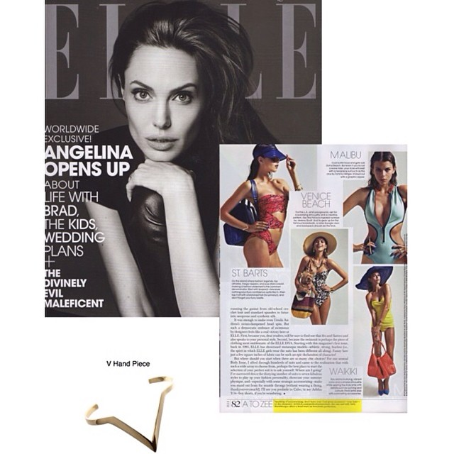 @elleusa @campbelljewels v hand cuff looking lovely in the @mrjoezee styled spread ❤️❤️❤️❤️