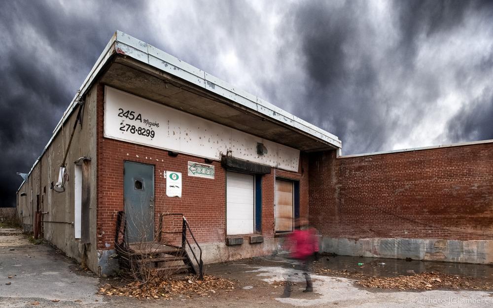 Bâtiment industriel (aujourd'hui disparu), Montréal (Plateau)