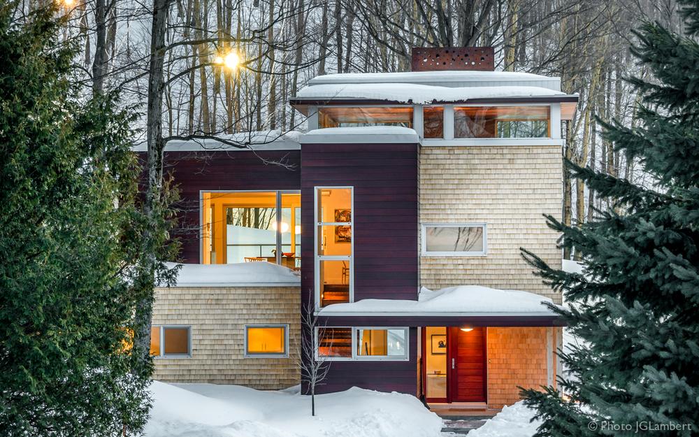 Résidence privée, Bromont