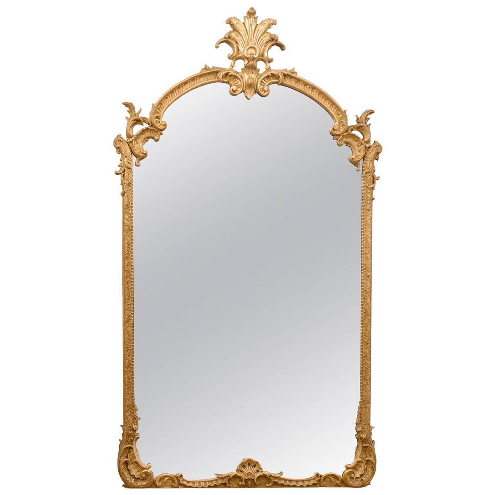Regence Style Giltwood Mirror