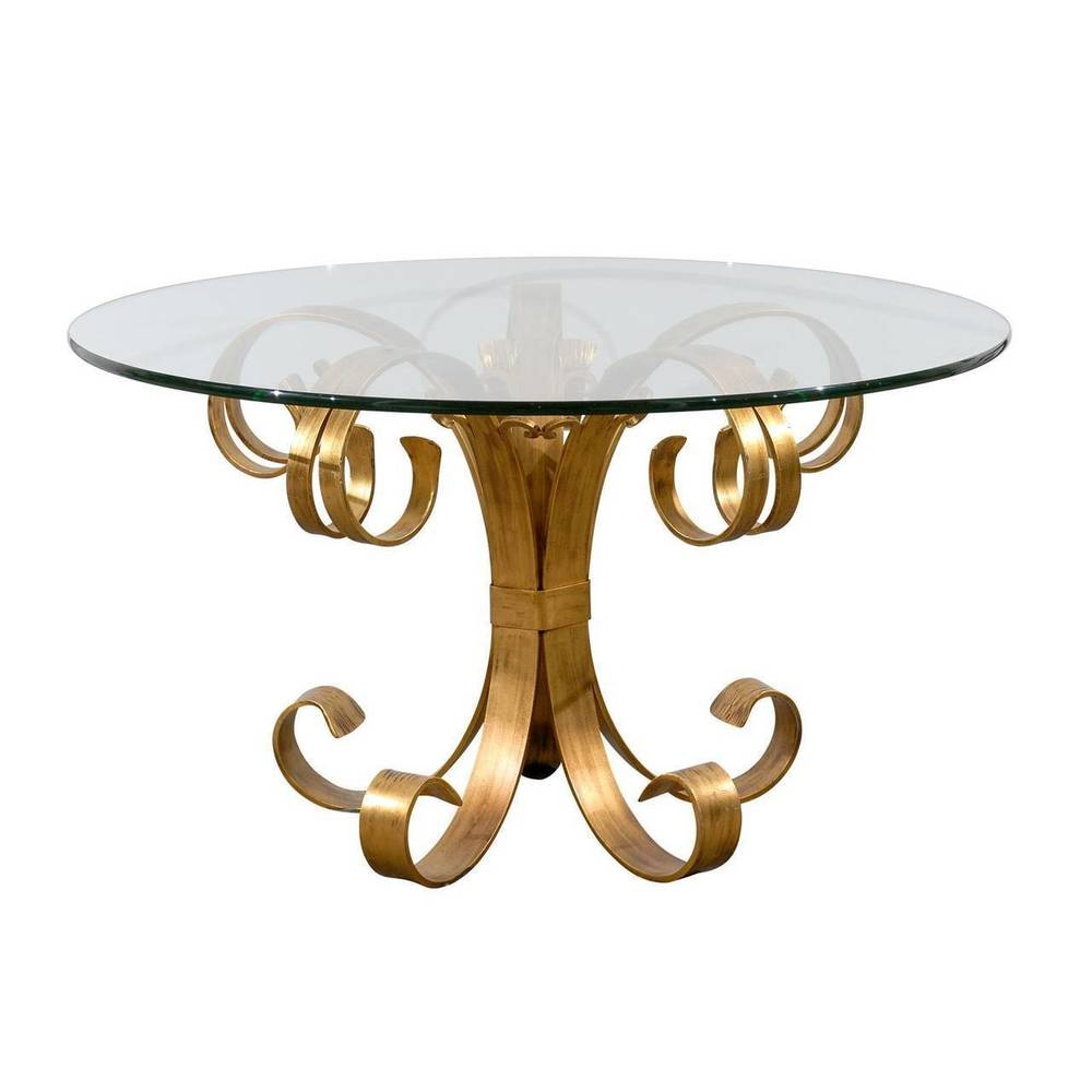 Gilded Iron Table Base