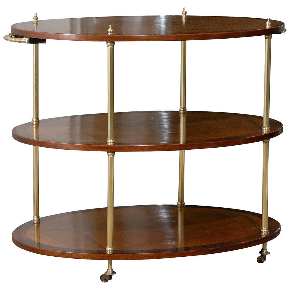 Three Tier Etegere on Casters