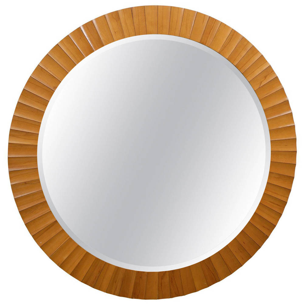 "60"" Diameter Beveled Mirror"
