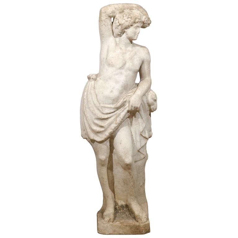 Marble Garden Statue
