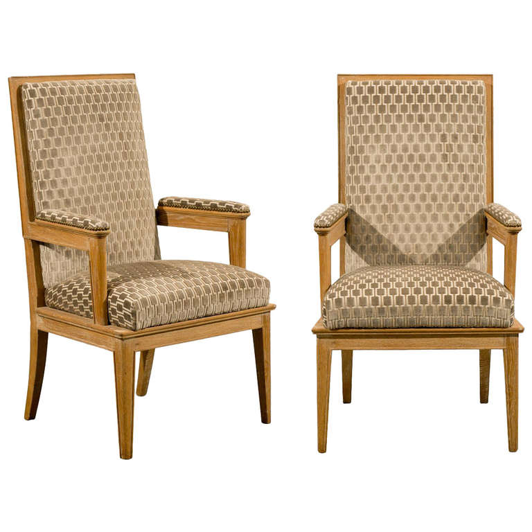 Pair of 1940's Style Arm Chairs