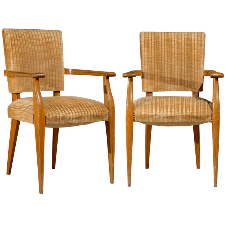 Pair of Chairs in Sycamore