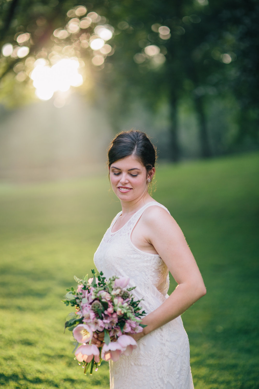 tulip love bridal bouquet
