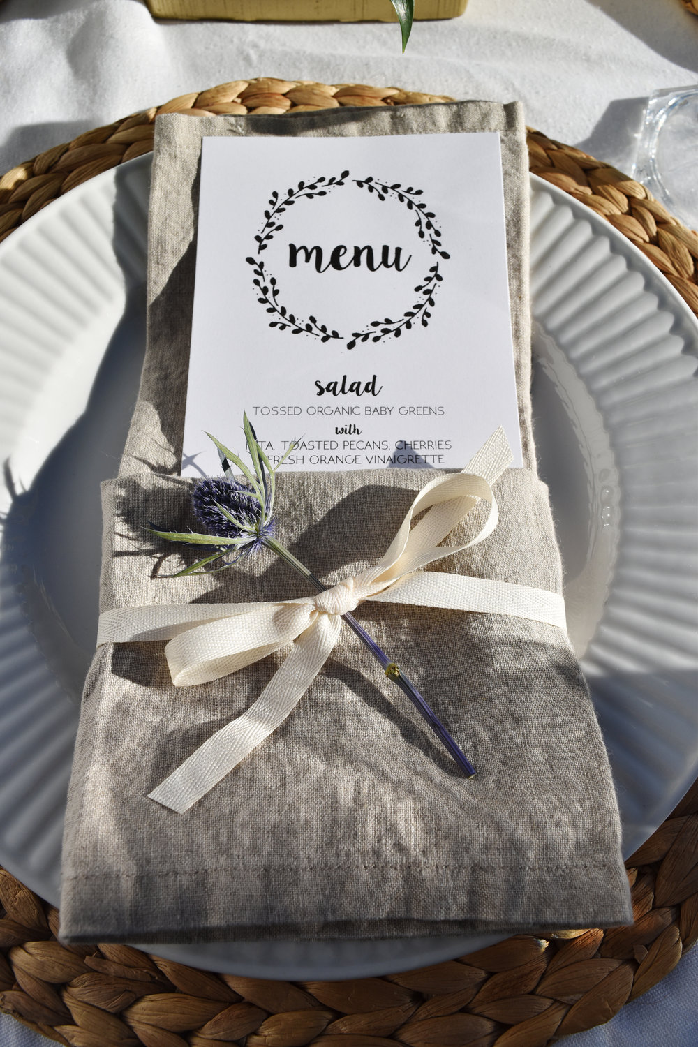 rustic chic wedding tables cape