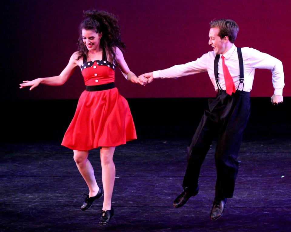 """""""For The Record"""" - With A Twist Dance Concert   University of Central Florida  Dancers - Abby Jaros and Parker Slaybaugh"""