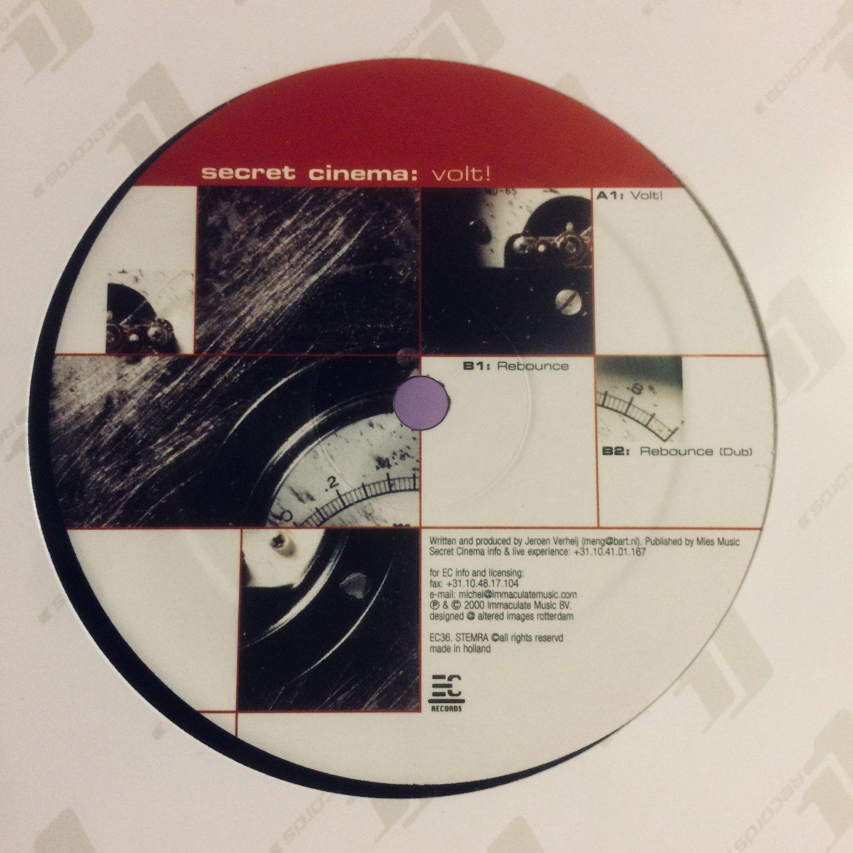 Secret Cinema – Volt! [EC Records] — ZWART GOUD record store