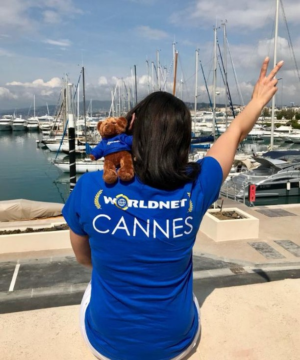 💙💛Final days of #CannesFilmFestival, we're looking forward to doing it again next year✨ ✨  #Worldnet #GiveAShip