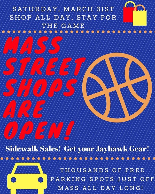 The street may be closed to the traffic and vehicles but we are open for business!! Spend the day with us on Saturday before the game! 🏀