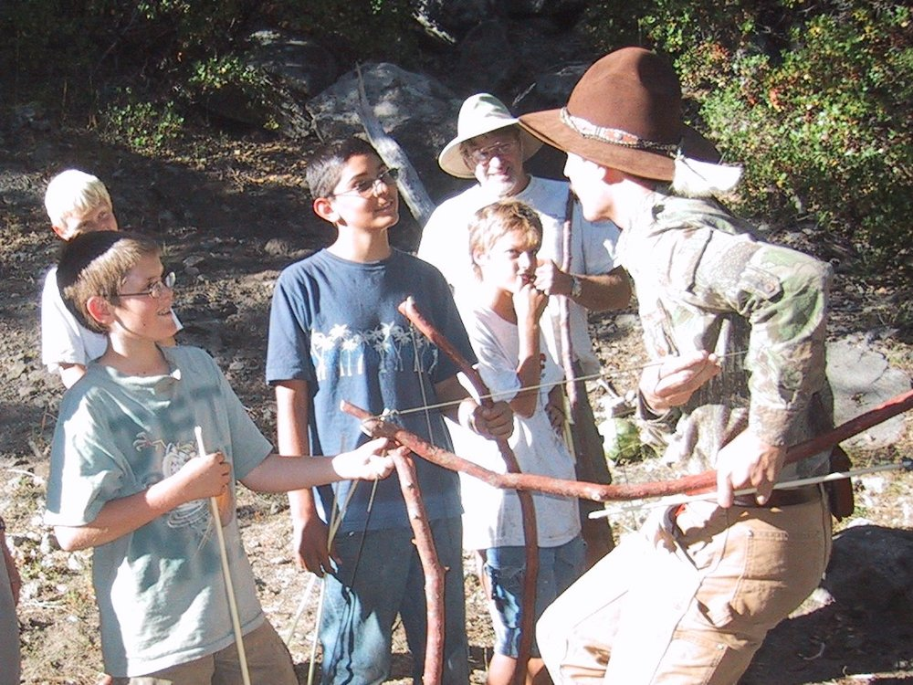 Primitive Archer and Arrowsmithing class.