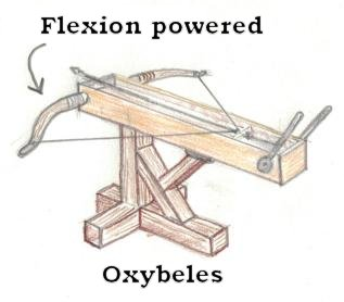 March 19, 2018 (Again in Fall 2018)CATAPULT TECHNOLOGY:Students will design and assemble their ownwooden scale model of a crossbow catapult, with several historic sketches for inspiration. These crossbows are intended to shoot clay pellets instead of arrows* -