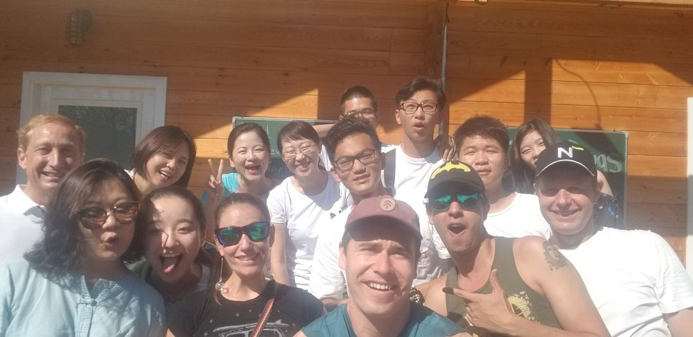 We also have a sister summer camp in China that features staff trained by Ben and Claire Walker.