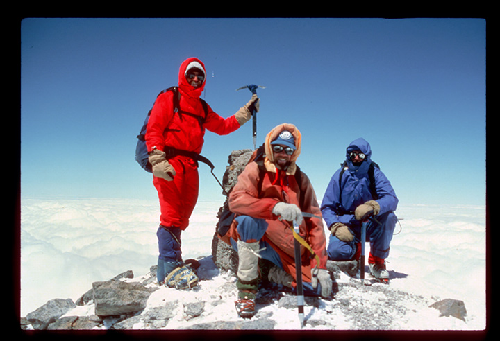 Summit of Elbrus, Europe's Highest Peak