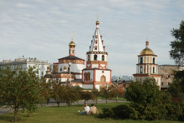 Epiphany Cathedral – Russian Orthodox Church – Irkutsk