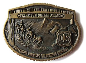 U.S. Forest Service Primitive Skills Award